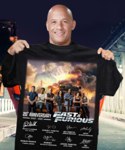 20th anniversary Fast and furious 2001 - 2021