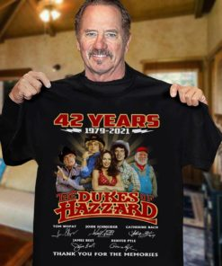 42 years 1979 - 2021 The dukes of Hazzard thank you for the memories