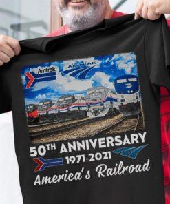 50th anniversary 1971 - 2021 America's Railroad
