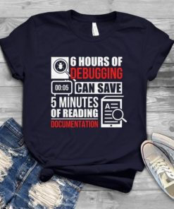 6 hours of debugging can save 5 minutes of reading document