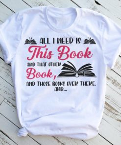 All I need is this book and that other book, and those books over there
