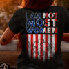 I am not most women paramedic - America flag