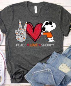 Peace love snoopy - Snoopy dog movie, movie lover