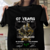 07 years 2014 - 2021 The curse of Oak Island thank you for the memories