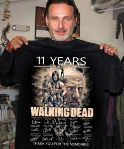 11 years 2010 - 2021 The walking dead Thank you for the memories