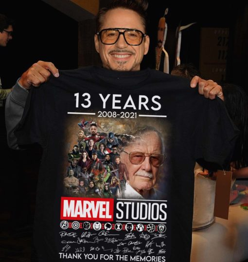 13 years 2008 - 2021 Marvel Studios Thank you for the memories