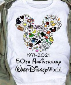 1971 - 2021 50th anniversary Walt Disney world - Walt Disney lover
