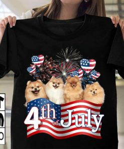 4th of July - Dog lover, America independence day