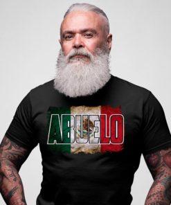 Abuelo - Mexico grandpa, mexico flag