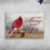 Cardinal Bird - I Am Always With You