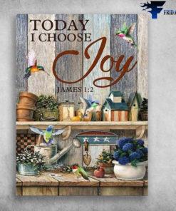 Humming Bird, Garden Tool - Today I Choose Joy