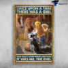 Little Girl, Dog And Horse - Once Upon A Time, There Was A Girl, Who Really Loved Horses And Dogs, It Was Me, The End