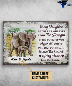 Mom And Daughter, Elephant Family, To My Daughter, No One Else Will Ever Know, The Strength Of My Love For You, Affter All, You're The Only One, Who Know The Sound Of My Heart, From The Inside