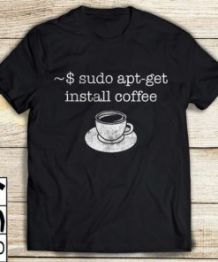 ~$ sudo apt-get install coffee - cup of coffee, coffee lover