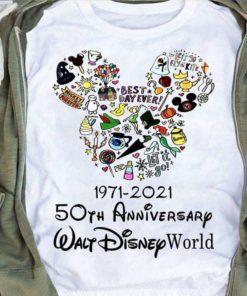 1971 - 2021 50th Anniversary Walt Disney world - Walt Disney cartoon