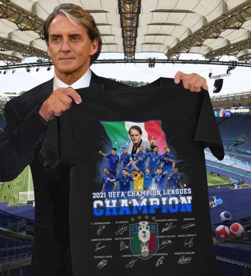 2021 UEFA champion leagues champion - Euro champion, Italia international football team