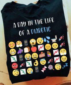 A day in the life of a diabetic - Diabetes awareness, diabetic emoji