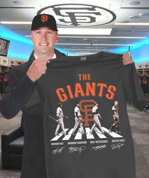 The giants baseball team - Baseball player, Brandon Belt, Brandon Crawford