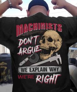 Skull Machinists - Machinists don't argue we wxplain why we're right