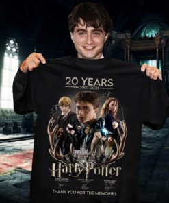 20 years 2001 2021 Harry Potter thank you for the memories