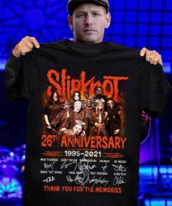 Slipknot 26th anniversary 1995-2021 thank for the memories