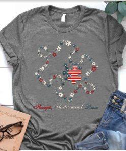 Accept understand love - Autism awareness, America autism awareness