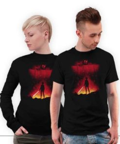 Attack on titan - Star war version T-shirt, movie lover