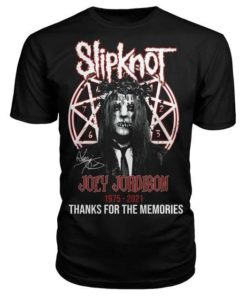 Slipknot Joe Jordison, Horror Singer 1975 - 2021 Thanks for the memories