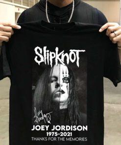 Slipknot Joey Jordison 1975 - 2021 Thank you for the memories