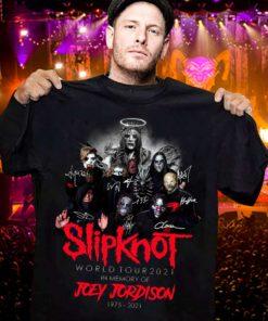 Slipknot world tour 2021 - In memory of Joey Jordison, Slipknot Joey Jordison