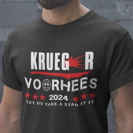 Krueger Voorhees 2024 Let us take a stab at it - Freddy Krueger, Jason Voorhees