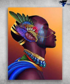 African Prince, Black Man Poster