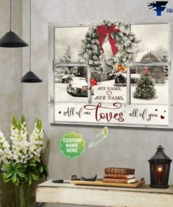 All Of Me, Love All Of You, Christmas Poster