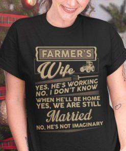 Farmer's wife - Husband and wife gift, farmer the job