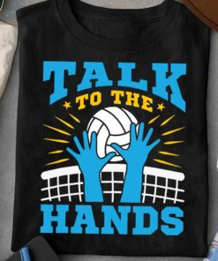 Talk to the hands - Volleyball player's gift, volleyball the sport